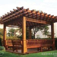 北京春景庭院绿化-通州庭院绿化-别墅花园设计施工-葡萄架凉亭-阳光房图片