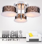 现代简约客厅吸顶灯经典大气圆形现代灯具卧室餐厅灯创意玻璃灯具图片