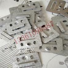 镀锌卡扣墙板卡扣快装集成墙板卡扣竹木纤维集成墙面板卡扣