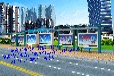 采购长沙标准公交候车亭款式,长沙指定候车亭生产基地
