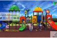 雅安厂家直销幼儿园塑料组合滑梯玩具游乐设施