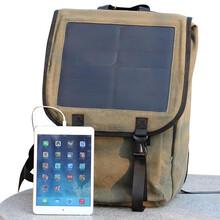 户外商务休闲太阳能充电双肩背包外贸热销时尚商务旅行包