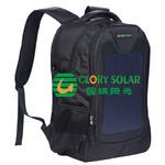 厂家供应国瑞阳光太阳能充电背包商务休闲电脑双肩包商务电脑包图片