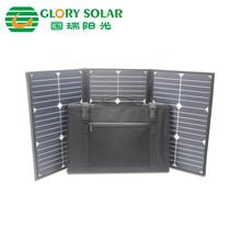供应国瑞阳光60W太阳能折叠包太阳能充电包