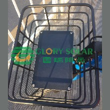 厂家供应自行车太阳能板共享单车太阳能电池供电定做图片
