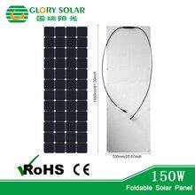 国瑞阳光厂家供应sunpower半柔性太阳能电池板单晶多晶电池组件定制图片