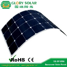 广东太阳能板厂家加工定制电动车太阳能板国瑞阳光光伏板发电