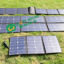 国瑞阳光太阳能板厂家批发定制太阳能折叠包太阳能充电包