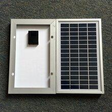广东厂家光瑞实业单多晶PET太阳能电池板壁灯庭院灯路灯太阳能板
