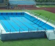 郑州卧龙供应动漫水世界专用可拆卸方便支架拆装游泳池图片