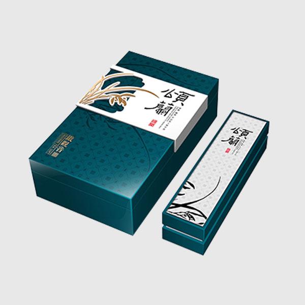 春茶包装盒定制高档茶叶包装设计制作
