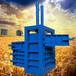 咸陽塑料薄膜壓扁機多功能油漆桶壓塊機供應