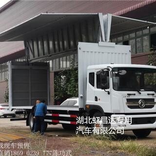 石家庄改装飞翼车生产厂家(大灯调节)图片1
