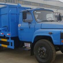 东风140摆臂式垃圾车配置,性价比高的垃圾车是挂桶垃圾车