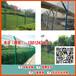 清远公路绿化带隔离网景区铁丝围网绿色浸塑边框护栏批发
