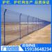 锌钢栅栏围墙厂家|海南小区铁丝隔断网|三亚绿化带双边丝护栏网