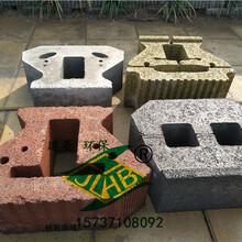 河南舒布洛克磚鄭州建菱擋土墻磚403015混凝土砌塊磚今日行情價格走勢圖片