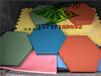 六角砖规格20206、彩色六边形广场砖、六棱砖、实心六角砖
