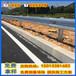 茂名国道防撞护栏板波形梁钢板乡村道路波形板银灰色W型护栏板