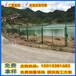 镀塑钢网护栏阳江网格护栏圈山隔离网栏河道铁丝网厂家价格
