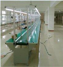 流水线输送线滚筒皮带流水线河南皮带输送线-河南非标设备流水线厂家