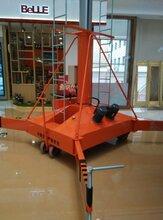 启运直销天津市西青静海区QYTG-小型室内套缸式升降平台家用升降机移动式升降平台图片
