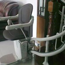 辽阳市天津过街天桥斜挂式升降机老人专用座椅曲线电梯启运量身定做图片