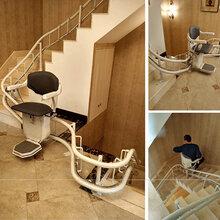 室外座椅电梯曲线型老人电梯别墅安装升降椅平谷区升降平台