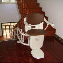曲線座椅電梯啟運老年人升降椅六合區白下區家用別墅電梯圖片