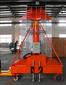 启运专业厂家生产升降机高空作业车套缸式升降机提升机图片
