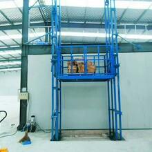 升降货梯电动液压升降机平台固定式导轨链条式厂房家用货梯传菜机图片