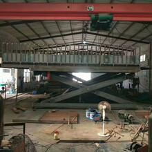 汽车电梯货车升降机导轨式升降货梯太原市成都市启运多功能剪叉平台图片