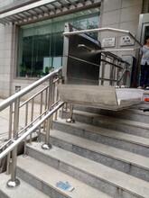 残联景区无障碍轮椅电梯生产厂家直销南平市延平区邵武市启运三层电动升降机图片