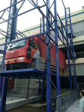 山西大同市工业设备汽车升降台维修设备举升机启运厂家订购图片