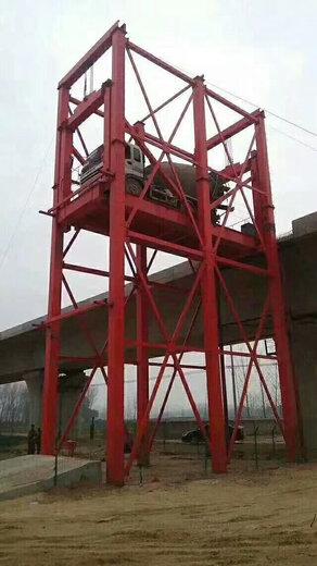 導軌式貨梯電動門升降機倉庫升降機唐山啟運貨梯廠家