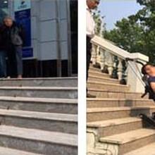 履带爬楼车楼梯无障碍轮椅电动爬楼车启运马鞍山市厂家特殊定制图片