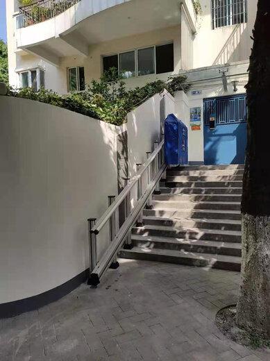 啟運定制樓道斜掛電梯殘疾人樓梯升降機揚州無障礙通道