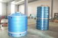 可定制鼎热不锈钢水箱厂家直销圆形卧式原水处理设备