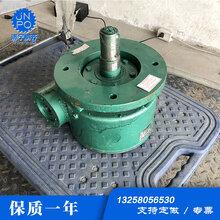 徐州工廠現貨WC120蝸輪蝸桿減速機泵車專用液壓回轉減速機圖片