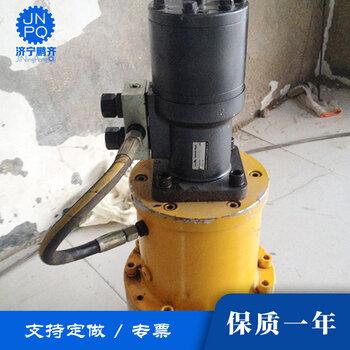 徐州吊车3吨行星减速机液压回转齿轮减速机液压马达驱动
