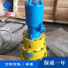 河南WC100蜗轮蜗杆减速机钻机专用回转减速机齿轮啮合减速机图片
