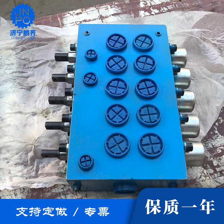 山东济宁液压手动换向阀厂家单联卷扬机专用分配器
