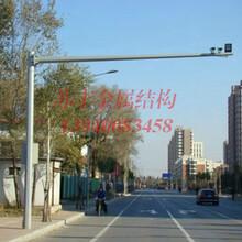 电子警察杆厂家选用高清晰度低照度稳定性好具有动态抗逆光