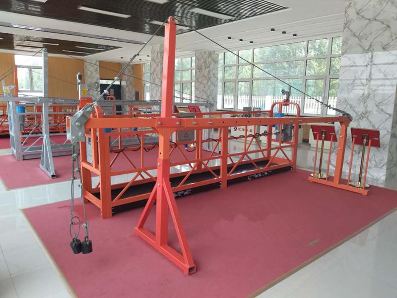 建筑工程吊篮zlp630型电动吊篮厂家电动吊篮价格