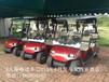 A4座电动高尔夫车爬坡能力强,性能好!