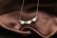 厂家批发韩版925纯银珍珠吊坠女珍珠银饰吊坠套链货源批发