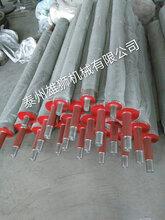 不锈钢导布棍导布轴胶棍专业生产及机械制造图片