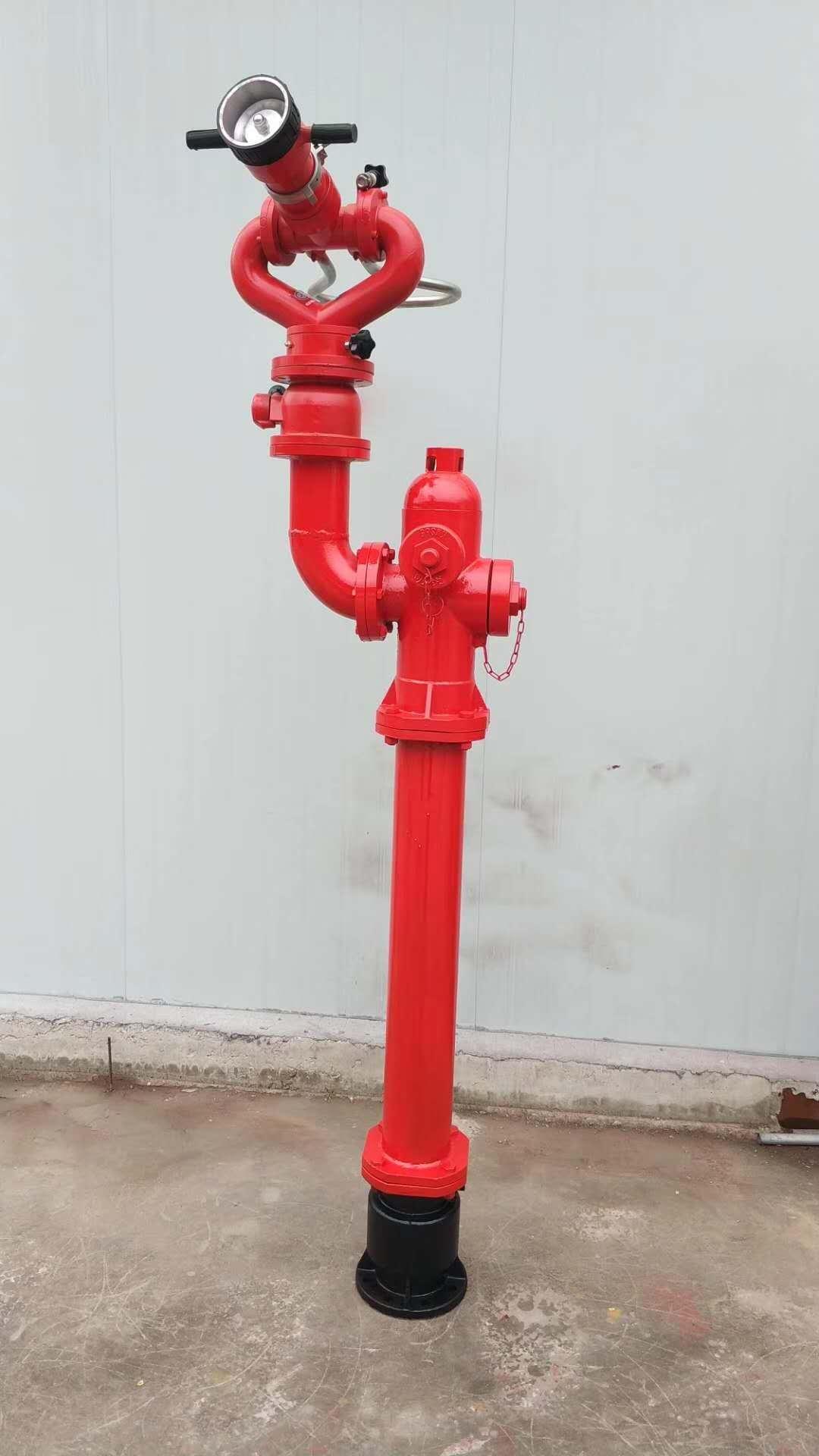 销售A型栓炮一体式消防水炮防撞调压消火栓防冻型消防水炮配套产品供应