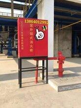 室外防凍型自泄式箱式消火栓SGW32D防凍消火栓箱圖片