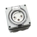 指印工业防水插座32A380V工业防水插座IP66图片